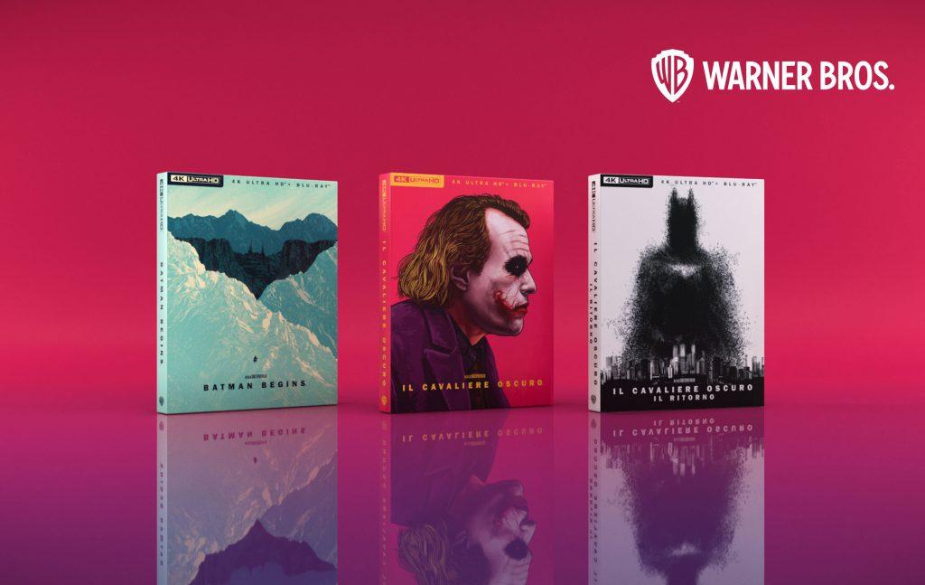 immagine principale del progetto redesign del Cavaliere oscuro per warner bros. con batman e joker