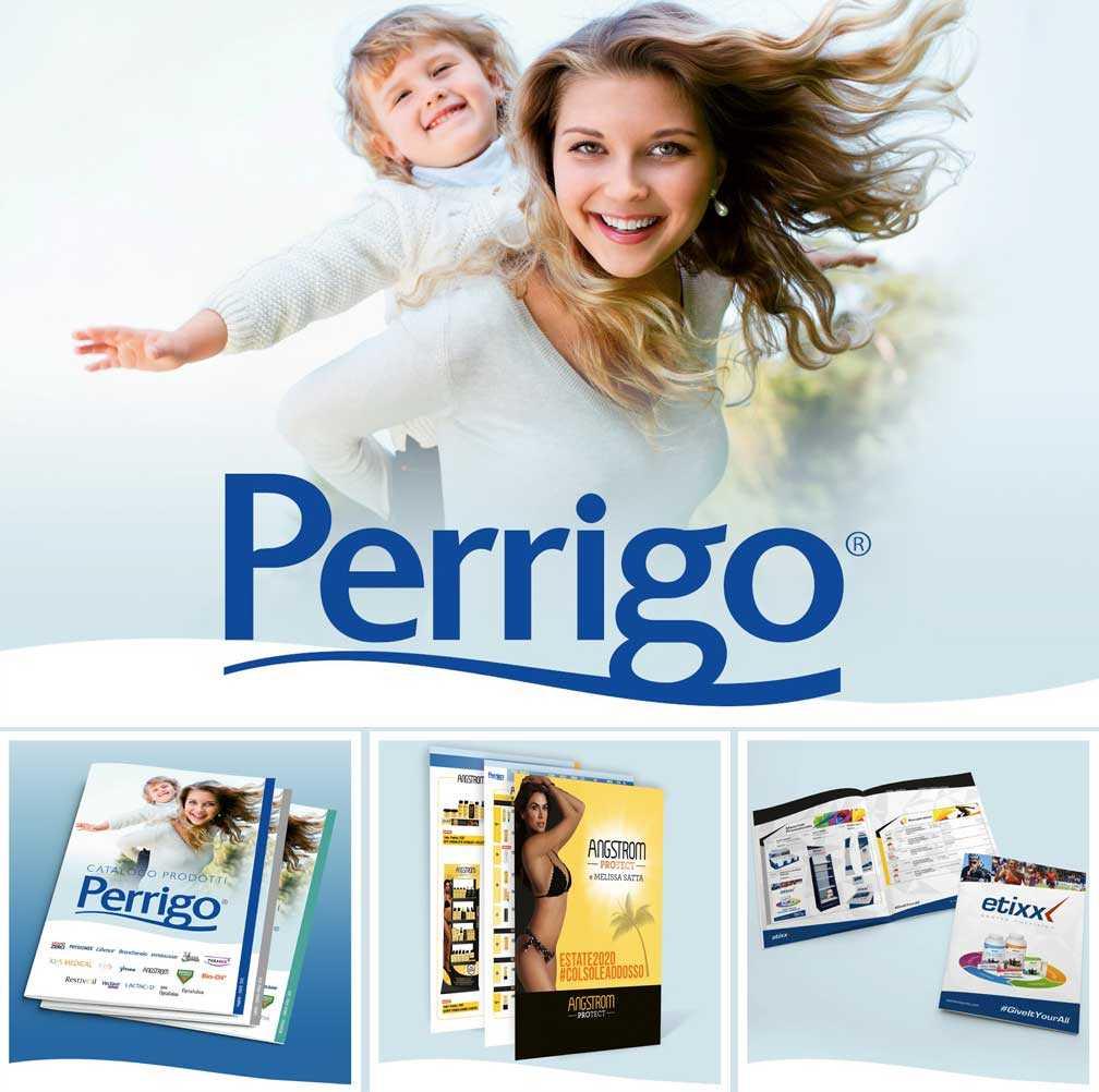immagine rappresentativa di un catalogo di vendita commerciale per Perrigo
