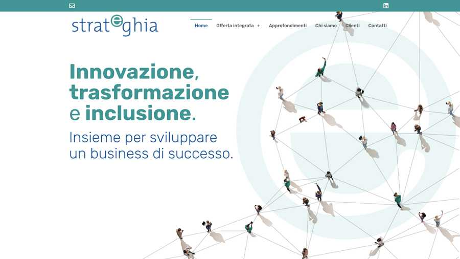 immagine descrittiva del sito internet web realizzato da media tools roma per strateghia